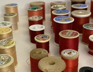 Vintage Estate Thread-Sewing Crafts Quilting -Colorful Variety- 50+ items
