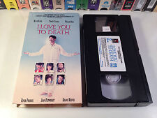 I Love You To Death Rare True Crime Comedy VHS 1990 OOP Kevin Kline Tracy Ullman