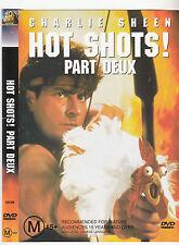 Hot Shots:Part Deux-1993-Charlie Sheen- Movie-DVD