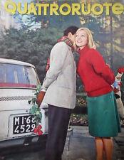 Quattroruote 85 1963 Prova Renault 8. DAF 750. Abarth 3 volte campione [Q76]