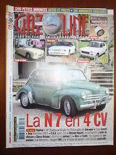REVUE GAZOLINE N°  119 N7 EN 4 CV PANHARD JUNIOR BX 4TC FIAT 127
