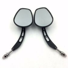Black Mirrors For 1982-later universal to most Harley Dyna Super Glide Converti