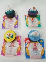McDonald's Mighty Ducks 1996 Set of 4 Toys Collectibles (invA28)