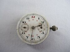 "Unusual Antique Pocket Watch Movement ""For Parts or Restoration"""