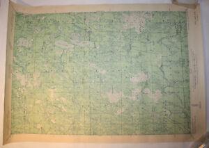 Vintage USGS Map Pike Lake, WI 1941