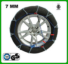CATENE DA NEVE 7MM 195/65 R15 TOYOTA AURIS [01/2012->]