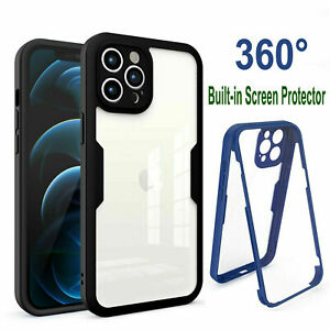 Full Body Case For iPhone 13 12 11 Pro XS Max Xr 7 8 Cover W/ Screen Protector