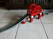 Lego Duplo  - 3774 -  Le pont du chemin de fer  Complet