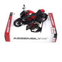 Maisto Ducati DIAVEL Carbon Assembly DIY 1/12 MOTORCYCLE BIKE Model Kit Diecast