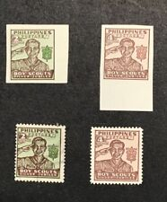 Philippines 1948 VF MH & Used Sc#528,528a,529,529a (W3)
