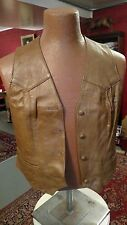 Collectable Never Worn Vintage Womens Leather Vest XL
