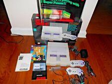 Super Nintendo SNES Super Set TESTED Complete SUPER MARIO WORLD] MINT Fast Ship