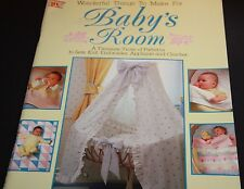 Baby room A treasure trove of Patterns to sew knit embroidery appliqué crochet