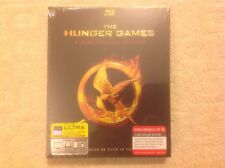 The Hunger Games TARGET EXCLUSIVE Set 3-disc deluxe edition blu-ray Sealed