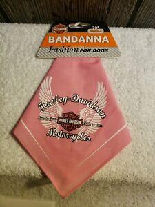"Harley Davidson Bandana Fashion For Small Dogs  20"" New"