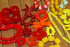 20 sets of Authentic Vintage, Czech Glass Beads - 5mm to 20mm - A2799c