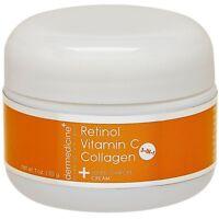 Vitamin C + Retinol + Collagen | Super Charged Anti-Aging Cream for Face | Ph...
