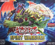 YuGiOh! Spirit Warriors Booster 1st Edition Individual or 3 Card Set