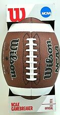Wilson Ncaa GameBreaker Series Official Size Football New Free Shipping