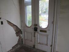 antique double entry doors