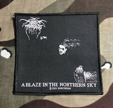Darkthrone A Blaze In The Northern Sky Woven Patch D023P Bathory Emperor