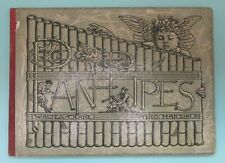 Walter Crane / Theo Marzials - Pan Pipes. 2nd ed, Routledge 1904.