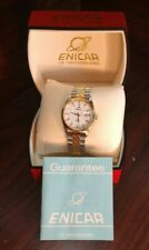 Enicar Rare Swiss Watch 2165/40/80VGA-NEW-Free Box Shipping with Tracking