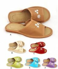 Unbranded Synthetic Leather Standard Width (B) Slippers for Women