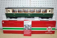 LGB 35650 RhB 1st Class Pullman Coach Salon Car (Green) *G-Scale* NEW