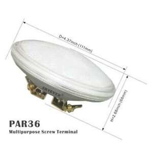 Waterproof PAR36 LED Spot Lamp 9W AC12V Light,Narrow Beam,For landscape Vihicle