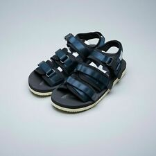 Suicoke OG-052V / GGA-V Navy Blue Vibram adjustable Nylon Tapes Sandals Slippers