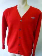 VTG mens JC PENNEY THE FOX RED sweater cardigan Orion Acrylic XL XLarge unionUSA