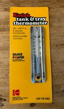 Vintage Kodak Tank and Tray Thermometer Original Package Cat 112 2183