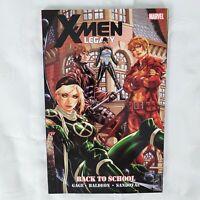 Marvel X-Men Legacy Back To School Soft Cover Graphic Novel TBP Gage Baldeon