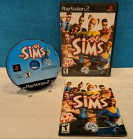 The Sims (Sony PlayStation 2, 2003) with Manual - Tested & Working