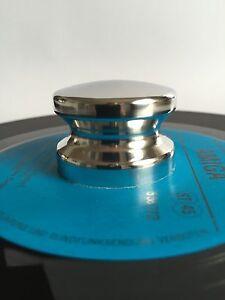 "SINGLE PUCK, ADAPTER, Schallplattenpuck, Singlepuck, adapter for 7"" records,"