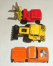 3 VINTAGE Toy Vehicles ~   2 Matchbox ~ 1 Made in Hong Kong
