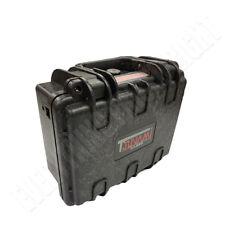 Waterproof Gun Hard Case Storage Carry Lock Box Single One Pistol Handgun Small