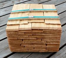 Lärchenholzschindeln 25cm, Holzschindeln Gartenhaus Vordach Spielhaus Basteln