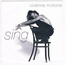 """Vivienne McKone- Sing / Sing / Fly / 7"""" Single von 1992"""