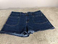 Abercrombie & Fitch W omens Denim Dark Wash Stretch Jean Shorts Size 6