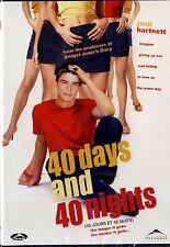 NEW DVD // 40 Days and 40 Nights // Josh Hartnett,Vinessa Shaw,Shannyn Sossamon