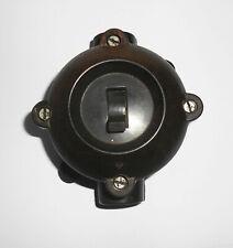 Bakelit Feuchtraum Schalter Lichtschalter AP Industrie Design Loft Ex Vintage !