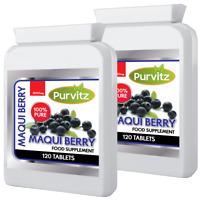 240 Maqui Berry Powerful Weight Loss Antioxidant Super Fruit Speed up Metabolism