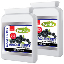 240 Maqui Berry Powerful Weight Loss Antioxidant Super Fruit Speed up Metabolism