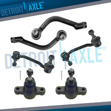 Front Sway Bar Link Lower Ball Joint Outer Tierod Kit for Hyundai Azera Sonata