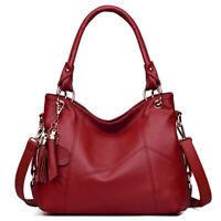 Women's Elegant Faux Leather Handbag Satchel Tote Sling Shoulder Bag Crossbody