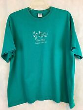 Gildan Jiving Java Granite Falls NC Green Short Sleeve Tee Shirt Size 2XL