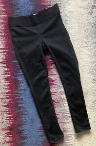 Topshop Joni Maternity Black Skinny Under The Bump Jeans Size 12 R Vgc