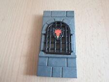 PLAYMOBIL ERSATZTEILE - Wand mit Fenster aus Set 3269 - Drachenfestung